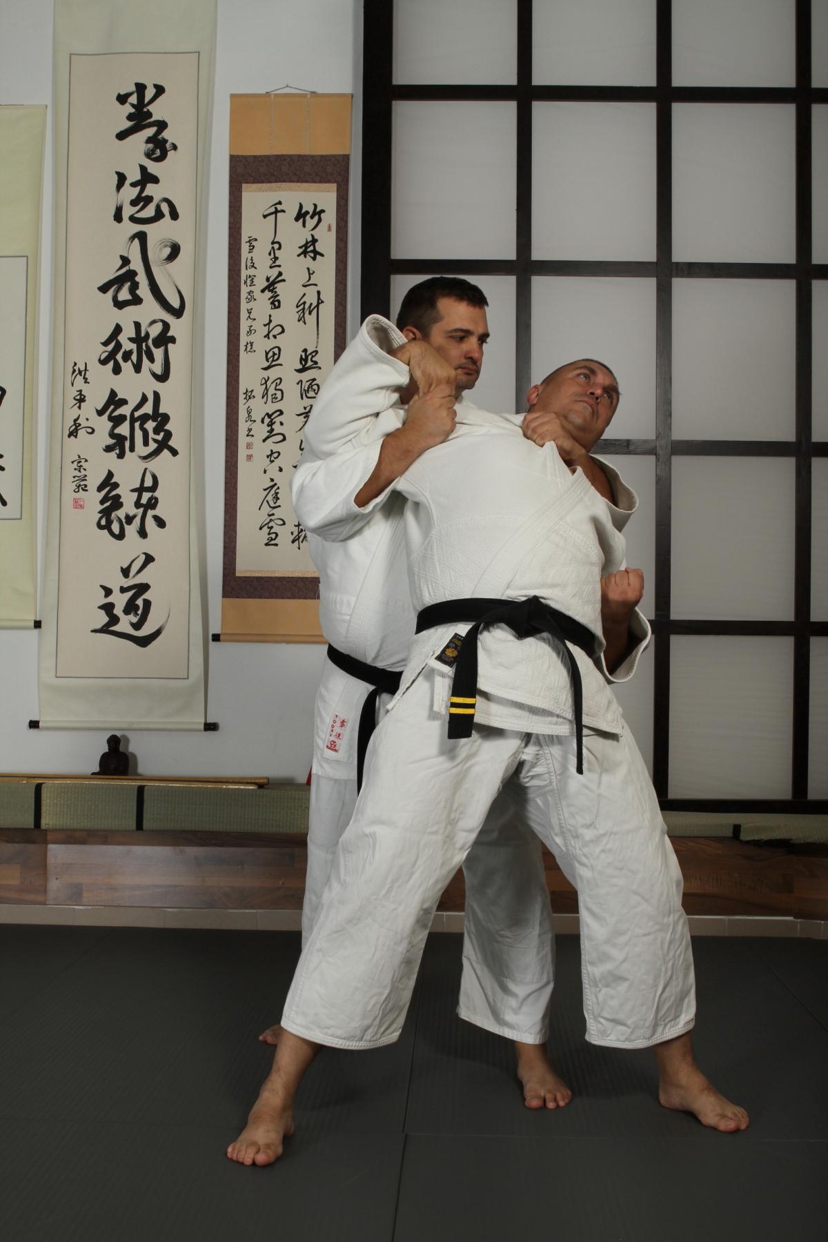 Ushiro Kubi Gatame
